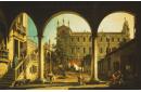 Caprice avec l'Ecole de San Marco, Venise, depuis le Palais Grifalconi-Loredan