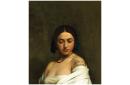 Etude florentine ou jeune fille en buste les yeux baissés