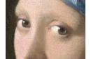 La jeune fille à la perle (détail)