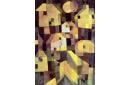 Composition de maisons abstraites