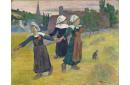 Danse Bretonne des filles à Pont-Aven