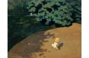 Le ballon ou Coin de parc avec enfant jouant au ballon