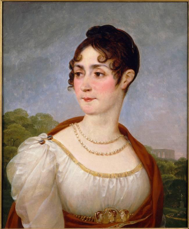 Portrait de l'impératrice Joséphine de Antoine-Jean Gros - Reproduction  d'art haut de gamme