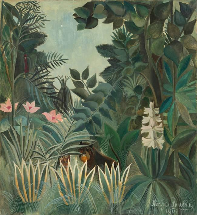 La Jungle Equatoriale De Henri Rousseau Reproduction D Art Haut De Gamme