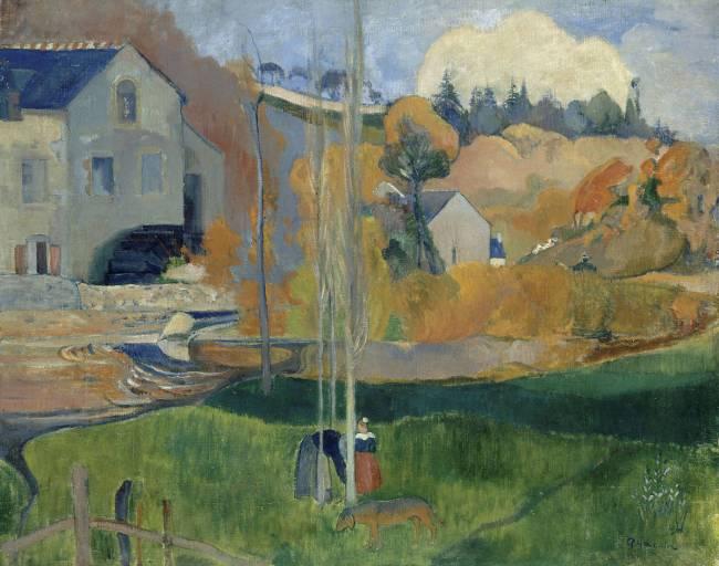 Paysage De Bretagne Le Moulin David
