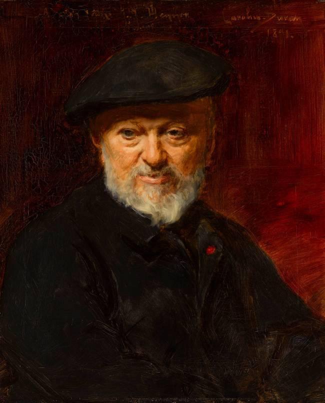 De Durand Jacques Henner Peintre Auguste Du Portrait Charles Jean tCwqvWX