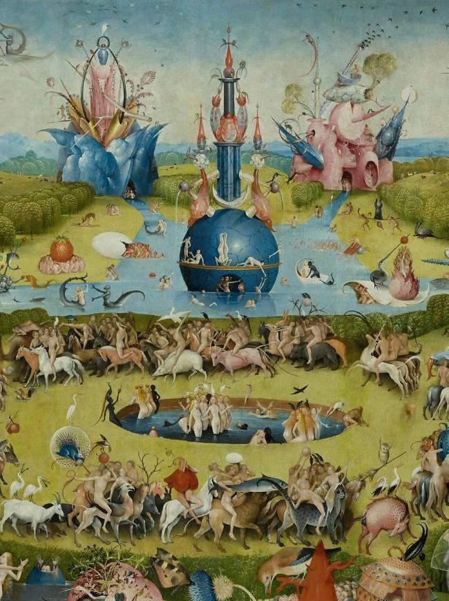 Le jardin des d lices de j r me bosch reproduction d 39 art - Le jardin des delices de jerome bosch ...