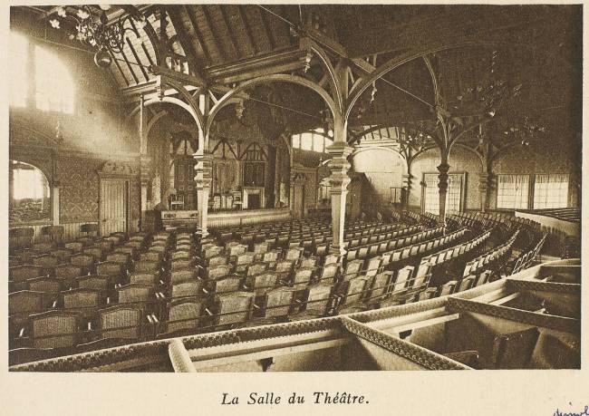 La Tour Eiffel La Salle Du Th 233 226 Tre De Neurdein Fr 232 Res