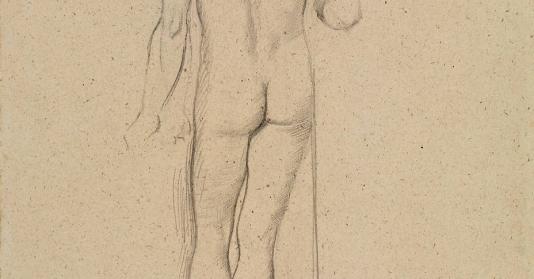 Jeune Homme Debout De Dos De Edgar Degas Reproduction D Art Haut