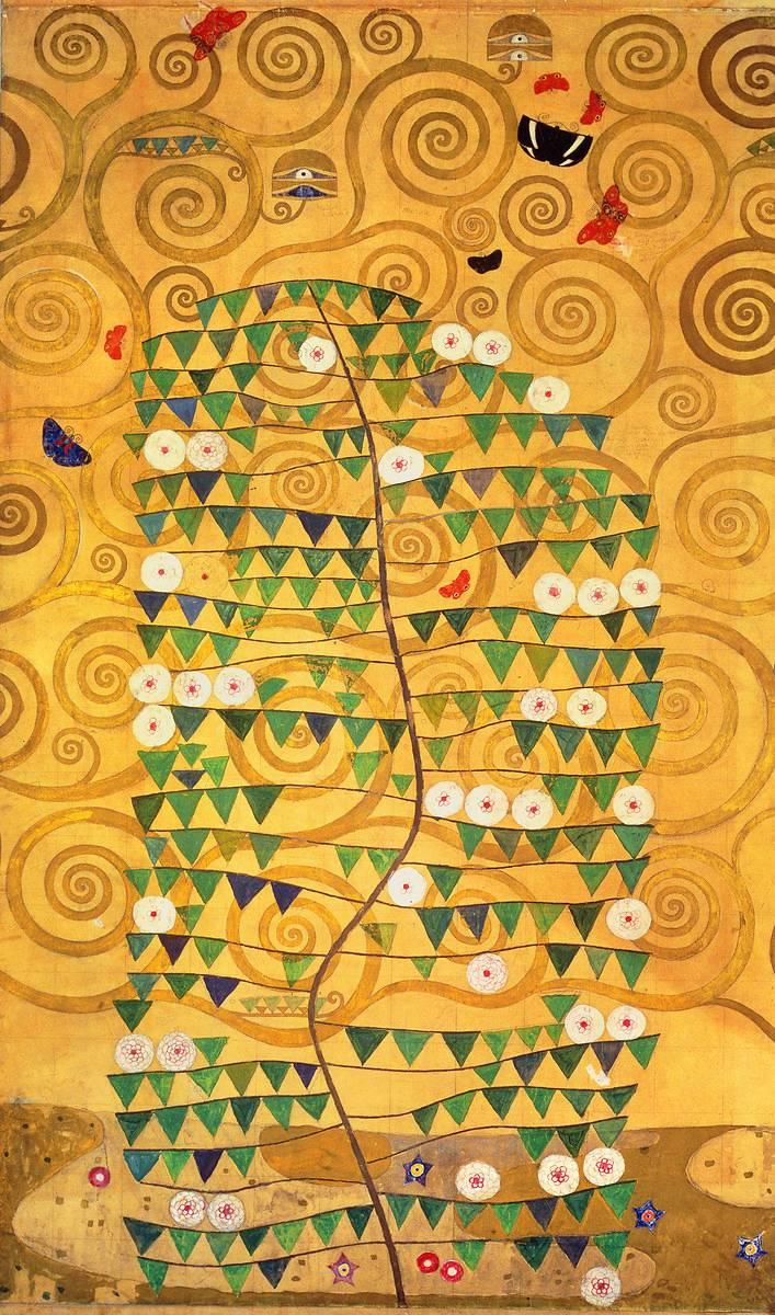 Klimt L Arbre De Vie Tableau l'arbre de vie (frise de la villa stoclet)