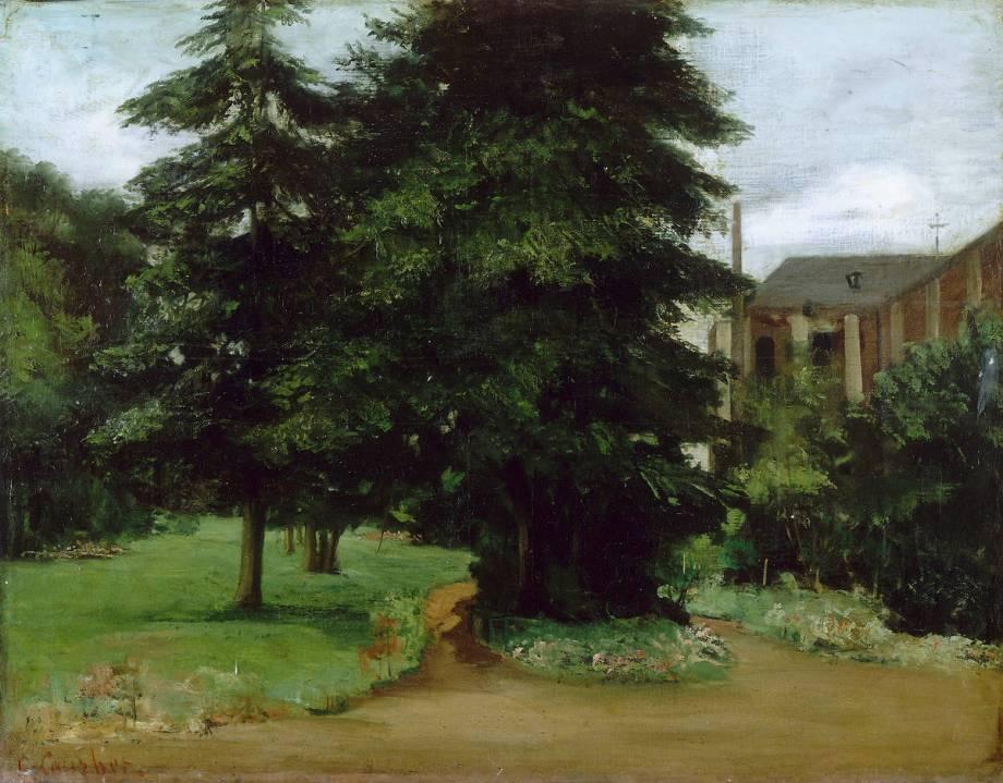 Le jardin de l 39 abbaye de loos lez lille 1851 de for Le jardin d alix lille