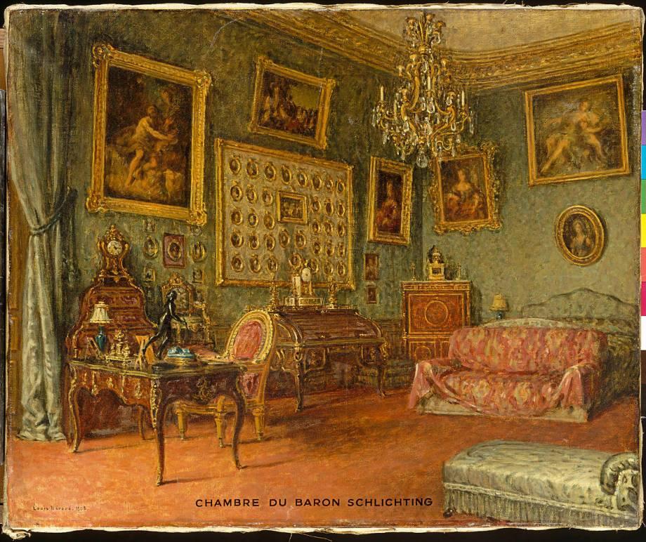 Chambre du baron basile de schlichting de beroud louis - Chambre des independants du patrimoine ...
