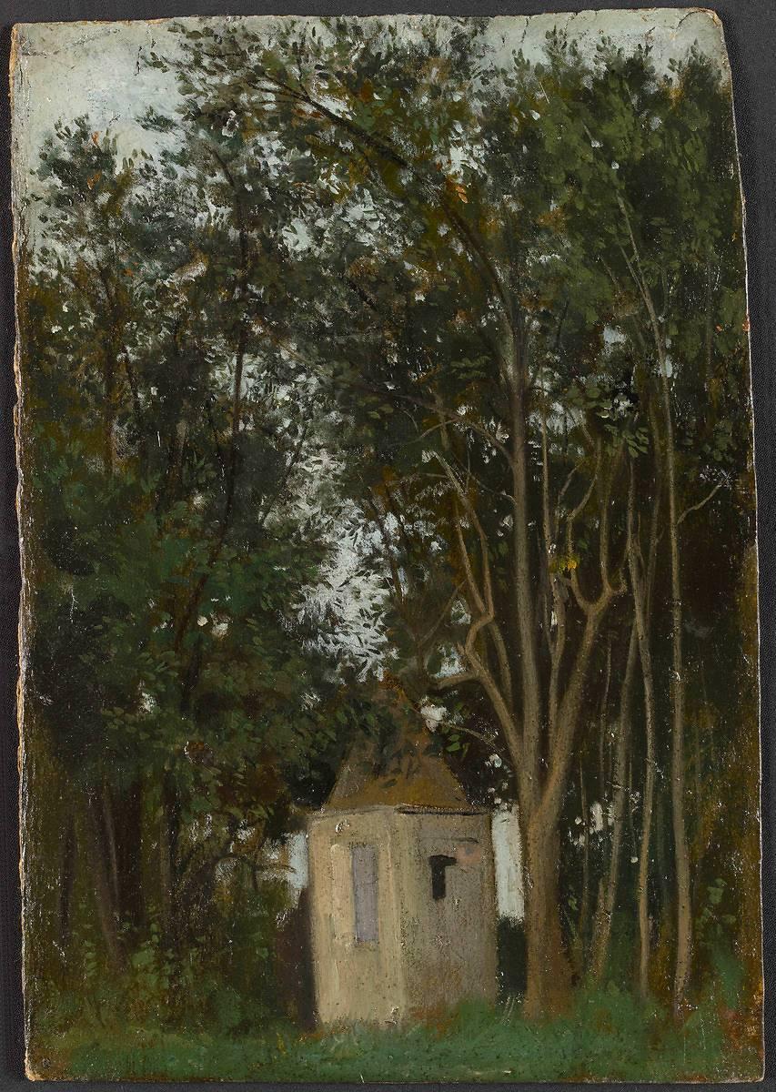 Pavillon dans les jardins de la Villa Medicis