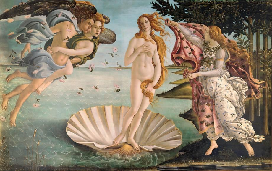 La Naissance De Venus De Sandro Botticelli Reproduction D Art Haut De Gamme