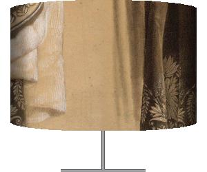 Partie inférieure du manteau impérial et une table (Anne-Louis Girodet) - Muzeo.com