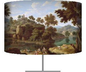 Paysage à la rivière (Allegrain Etienne) - Muzeo.com