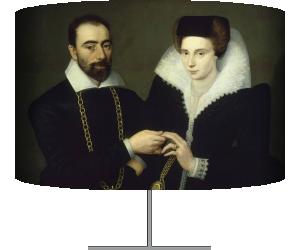 Portrait d'un couple (Anonyme) - Muzeo.com