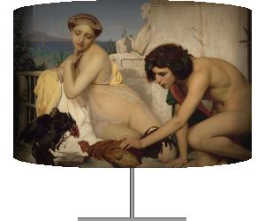 Jeunes Grecs faisant battre des coqs dit aussi un combat de coqs (Jean Léon Gerôme) - Muzeo.com