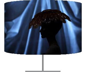 Modèle présentant une création du designer britannique John Galliano pour Christian Dior (Guillot François) - Muzeo.com