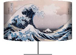 La grande vague près de la côte de Kanagawa (Hokusai) - Muzeo.com