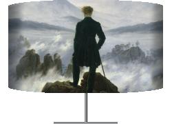 Le Voyageur contemplant une mer de nuages (Caspar David Friedrich) - Muzeo.com