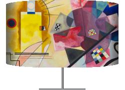 Jaune, rouge, bleu (Wassily Kandinsky) - Muzeo.com
