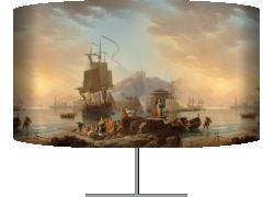 Marine, soleil couchant (Joseph Vernet) - Muzeo.com