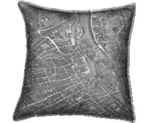 Plan de Paris, dit plan de Turgot (Claude Lucas) - Muzeo.com