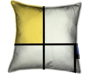 Composition bleu et jaune (Mondrian Piet) - Muzeo.com