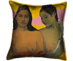 Deux tahitiennes (Gauguin Paul) - Muzeo.com