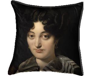 Détail du Portrait de madame Marcotte de Sainte Marie (Ingres Jean-Auguste-Dominique) - Muzeo.com