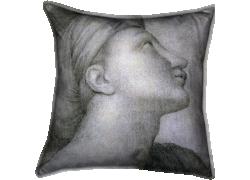 Profil de visage dans le style de Raphaël (Jean-Auguste-Dominique Ingres) - Muzeo.com