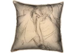 Danseuse assise, essayant ses pointes (Edgar Degas) - Muzeo.com