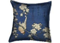 Bouvreuil et cerisier-pleureur (Hokusai) - Muzeo.com