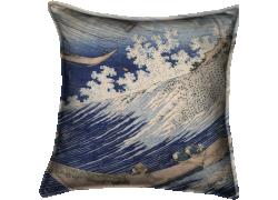 Une mer déchaînée à Choshi (Hokusai) - Muzeo.com