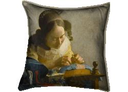La Dentellière (Johannes Vermeer) - Muzeo.com