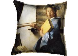 L'art de la peinture ou L'atelier du peintre (Johannes Vermeer) - Muzeo.com