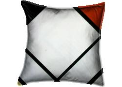 Composition en losange rouge, noir, bleu et jaune (Mondrian Piet) - Muzeo.com