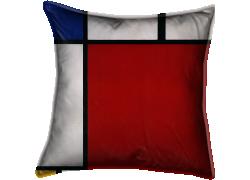 Composition en rouge, bleu et jaune (Mondrian Piet) - Muzeo.com