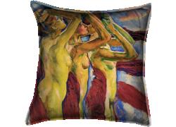 Les trois nus (Koloman Moser) - Muzeo.com