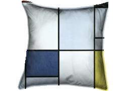 Tableau 1, rouge, noir, bleu et jaune (Piet Mondrian) - Muzeo.com