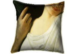 Jeune fille en buste (Hippolyte Flandrin) - Muzeo.com
