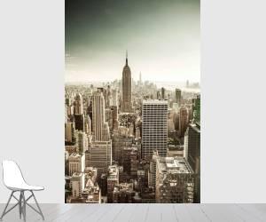 États-Unis, État de New York, Manhattan, New York City, l''Empire State Building, Midtown, paysage urbain de Top of the Rock au Rockefeller Center (Antonino Bartuccio) - Muzeo.com