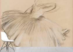 Danseuse penchée en avant (Edgar Degas) - Muzeo.com