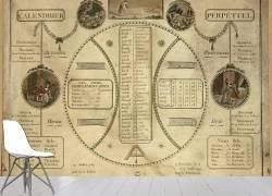 Calendrier perpétuel révolutionnaire (Umberto anonyme) - Muzeo.com