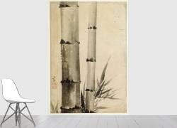Deux tiges de bambous (Hokusai) - Muzeo.com