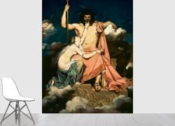 Jupiter et Thétis (Jean-Auguste-Dominique Ingres) - Muzeo.com
