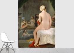 La petite baigneuse - Intérieur de harem (Ingres Jean-Auguste-Dominique) - Muzeo.com