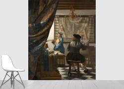 L'art de la peinture ou L'atelier du peintre (Vermeer Johannes) - Muzeo.com