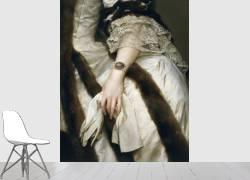 Portrait de Marie Caroline d'Autriche (détail) (Anton Raphael Mengs) - Muzeo.com
